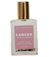 The Lyfestyle Co. Natural Crystal Infused Perfume Oil Cancer