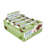 Simply Protein Whey Protein Bars Chocolate Mint Case
