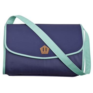 JJ Cole Outdoor Blanket Blue Fractal
