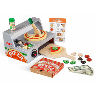 Melissa & Doug Top & Bake Pizza Counter