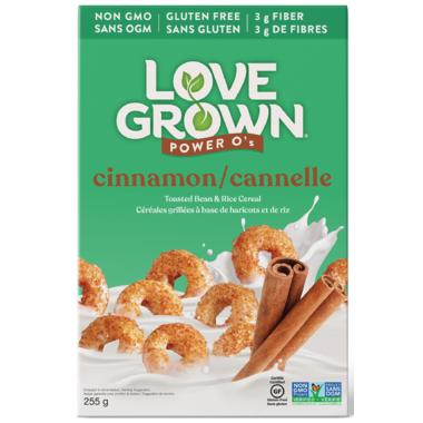 Love Grown Cinnamon Power O\'s Cereals