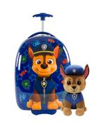 Paw Patrol Chase Luggage & Plush Bundle Chase