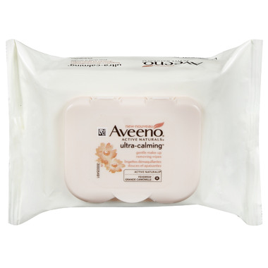 Aveeno Ultra-Calming Make Up Removing Wipes