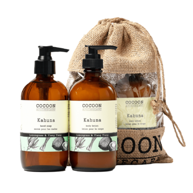 Cocoon Apothecary Kahuna Hand Care Set