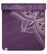 Gaiam 6mm Studio Select Reversible Yoga Mat Ultra Violet Indigo Whisper