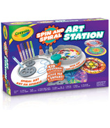 Station artistique Crayola Spin and Spiral