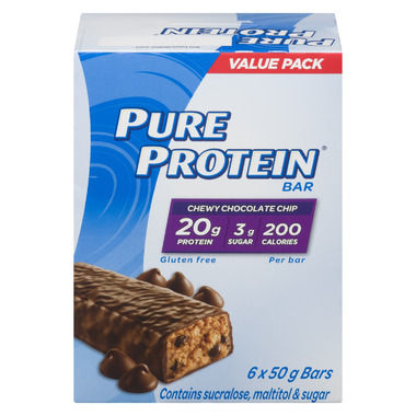 Pure Protein Bars Chewy Chocolate Chip