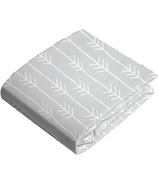 Kushies Crib Sheet Flannel Grey One Direction