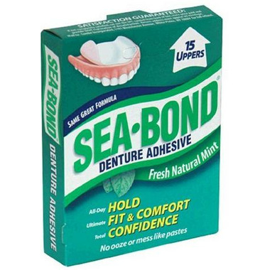 Sea Bond Denture Adhesive Fresh Mint