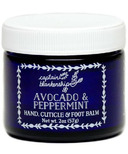 Captain Blankenship Avocado & Peppermint Hand, Cuticle and Foot Balm
