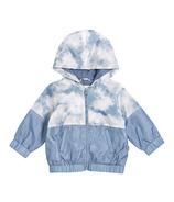 Miles Baby Blue Tie Dye Jacket