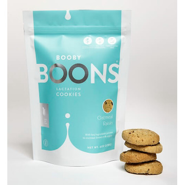 Stork and Dove Booby BOONS Lactation Cookies Oatmeal Raisin