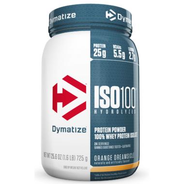 Dymatize Nutrition ISO100 Hydrolyzed Protein Powder Orange Dreamsicle