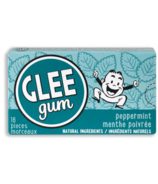 Glee Gum All Natural Peppermint Gum