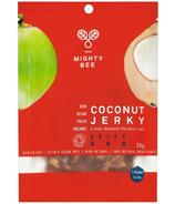 Mighty Bee Organic Vegan Coconut Jerky Spicy BBQ
