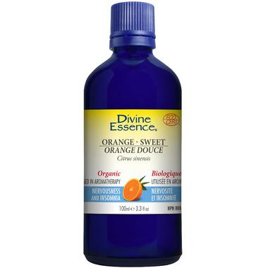 Divine Essence Sweet Orange Essential Oil