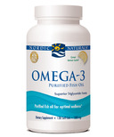 Nordic Naturals Omega-3 Purified Fish Oil Lemon Flavour