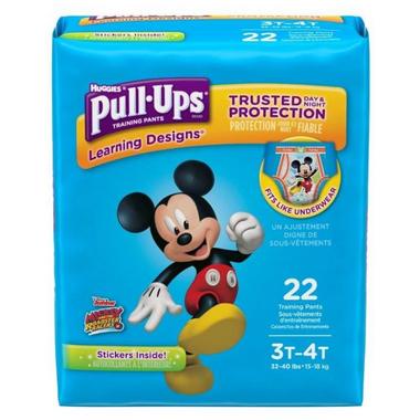 Huggies Pull-Ups Learning Designs Training Pants For Boys Jumbo Pack