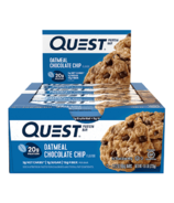 Quest Nutrition Protein Bar Oatmeal Chocolate Chip Case