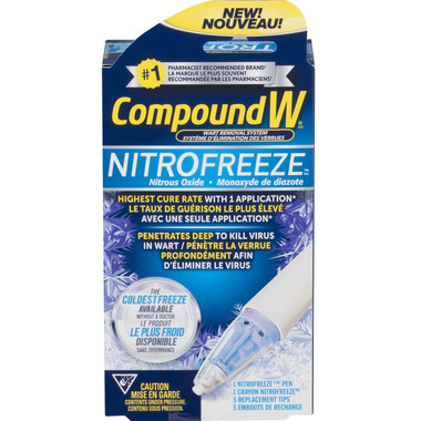 Compound W NitroFreeze Spray