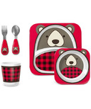 Skip Hop Zoo Winter Mealtime Gift Set Bear