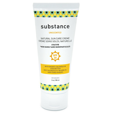 Substance Unscented Sun Care Creme SPF 30 Travel Size
