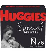 Couches hypoallergéniques Huggies Special Delivery pour bébé