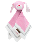 Juddlies Cottage Collection Organic Lovey Rabbit Sunset Pink