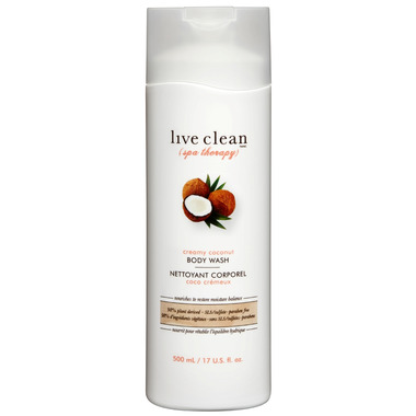 Live Clean Coconut Body Wash