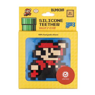 Bumkins Nintendo Silicone Teethers 8- Bit Super Mario