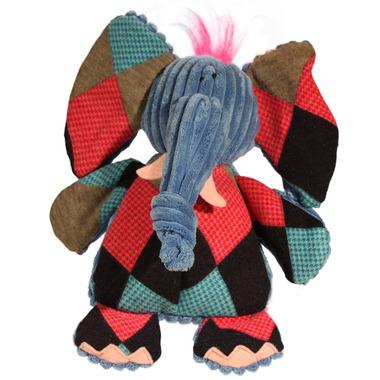 Hugglehounds Chubbie Buddies Squeaky Large Elephant Dog Toy
