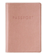 Eccolo Passport Case Rose Gold