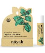 noyah Organic Spearmint Lip Balm