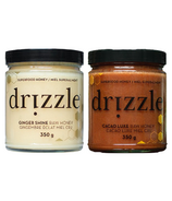 Drizzle Ginger Shine & Cacao Luxe Raw Honey Bundle