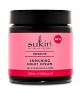 Crème de nuit à la rose musquée de Sukin