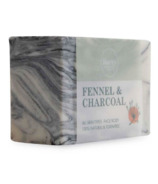 Rocky Mountain Soap Co. Fennel Charcoal Bar Soap