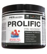 PEScience Prolific Pre-Workout Melon Berry Twist