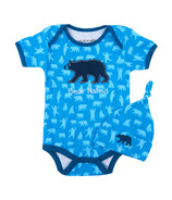 Little Blue House Infant One Piece - Blue Bears