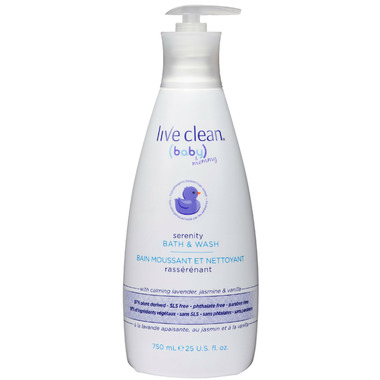 Live Clean Baby & Mommy Serenity Bath & Wash