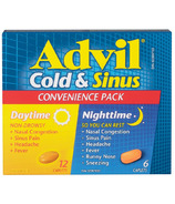 Advil Cold & Sinus Daytime & Nighttime Convenience Pack