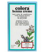 Colora Henna Creme Hair Color & Conditioner with Natural Henna