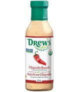 Vinaigrette et marinade ranch chipotle de Drew's Organics