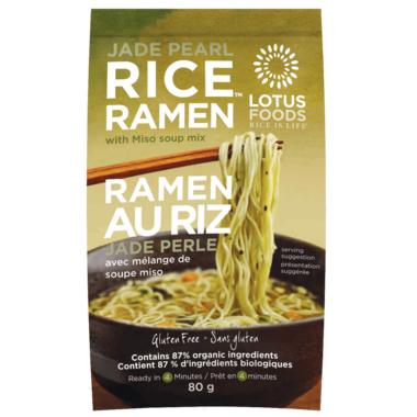 Lotus Foods Jade Pearl Ramen with Miso
