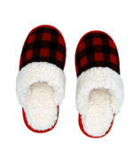 Pudus Slide Slippers Lumberjack Red