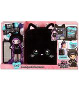 Na! Na! Na! Surprise 3-in-1 Backpack Bedroom Playset Black Kitty