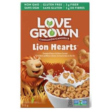 Love Grown Kid\'s Cinnamon Lion Hearts Cinnamon
