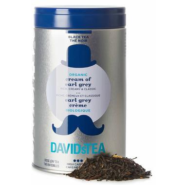 DAVIDsTEA Iconic Tin Organic Cream of Earl Grey