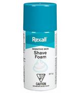 Rexall Moisturizing Shave Foam For Sensitive Skin