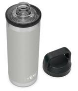 YETI Rambler Bottle + Chug Cap Granite Gray