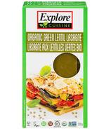 Explore Organic Green Lentil Lasagna